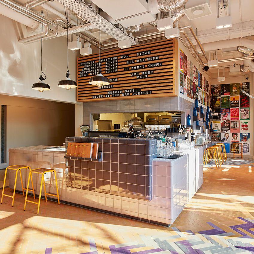 Generator amsterdam desks and counters hostel