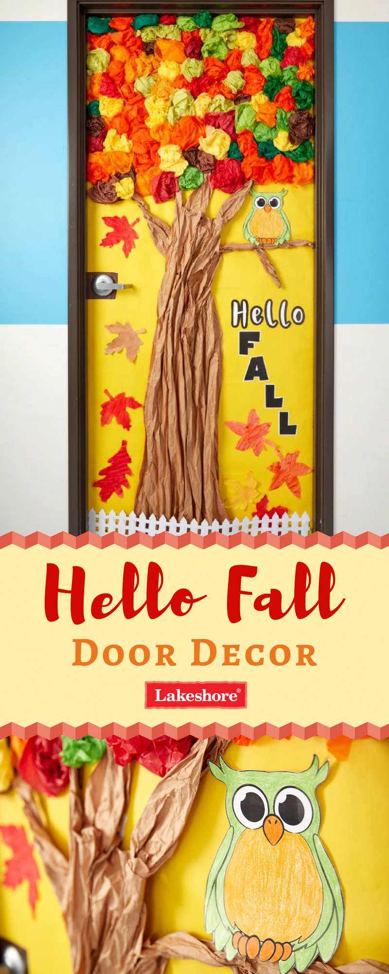 Bold & Bright 4 Punch-Out Letters #falldoordecorationsclassroom