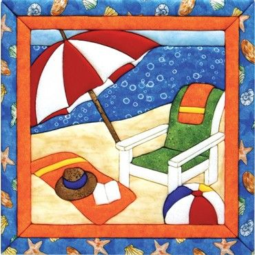 Mary Maxim - Summer Time Quilt Magic Kit - Clearance