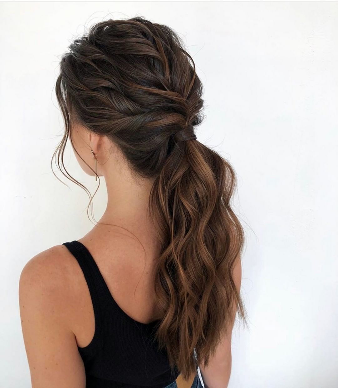8 Magnificent Prom Hairstyle For Owner Long Hair In Prom Night Party In 2020 Hair Styles Hairstyle Ombre Hair