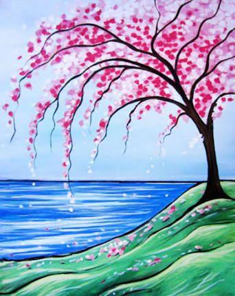 Resultado De Imagen Para Paisajes Faciles De Pintar Para Ninos Paisajes Para Pintar Faciles Paisajes Bonitos Para Dibujar Paisaje Para Pintar