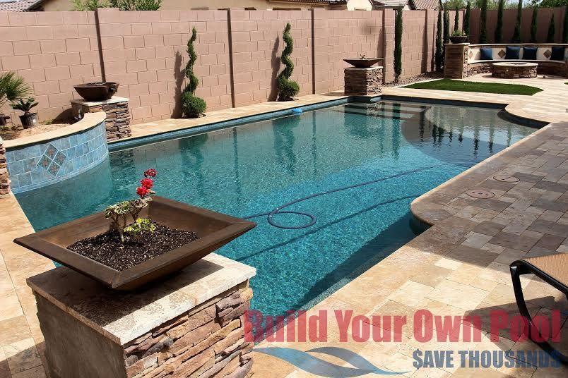 You Can Build Your Own Pool In Arizona Nevada Florida California Texas Build Your Own Pool Backyard Pool Building A Pool