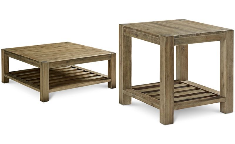 Furniture Canyon 2 Pc Set Coffee End Table Created For