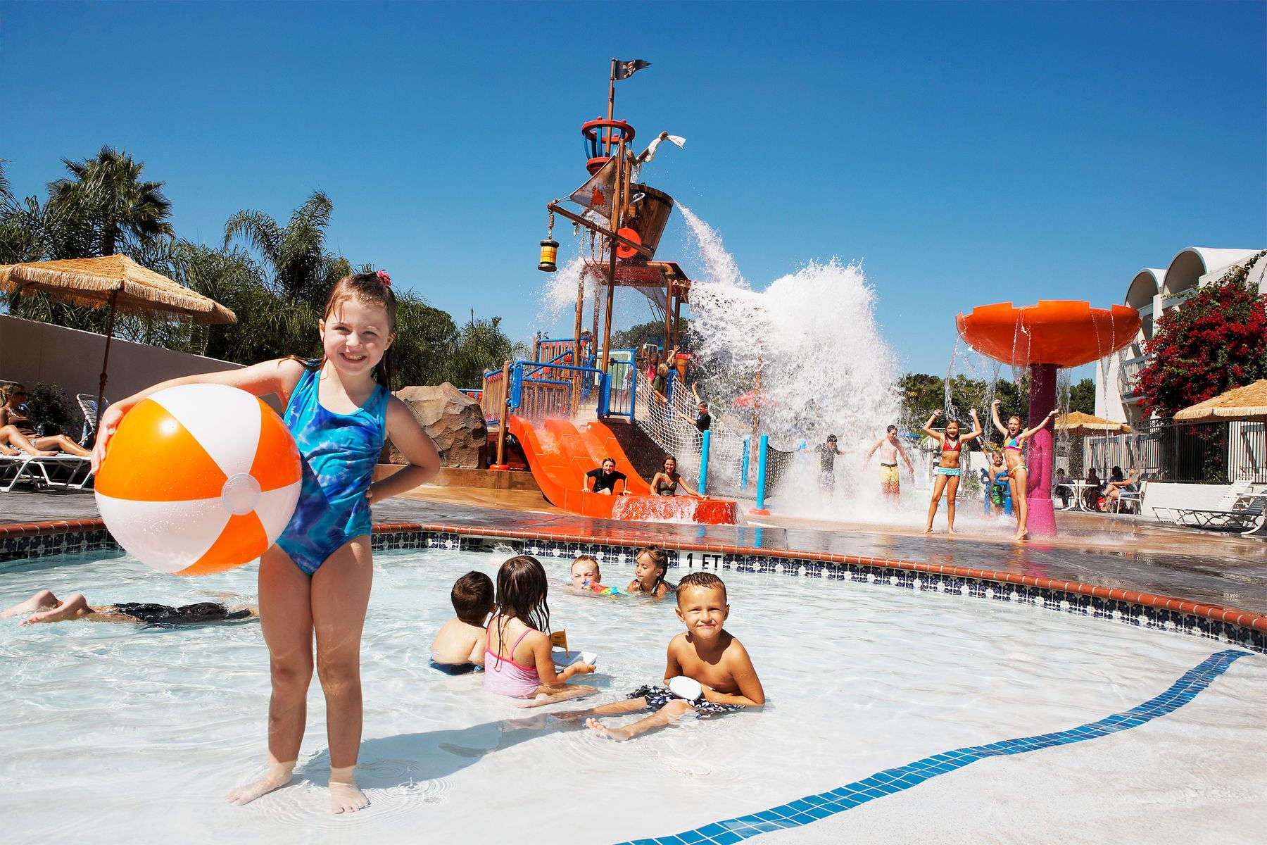 Anaheim Ca Family Hotel With Waterpark In Walking