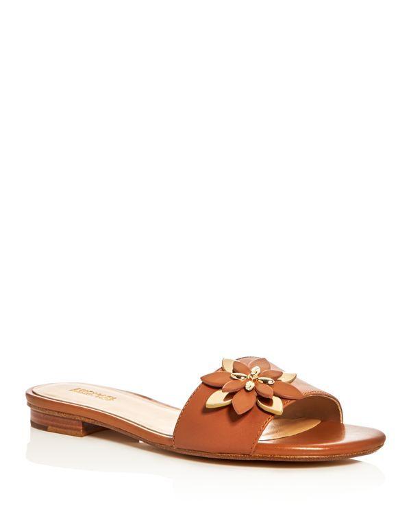 b4437d4bcbf Michael Michael Kors Heidi Slide Sandals