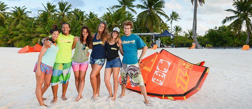 Zephyr Kite Tours Cocos Islands 14 Cocos Island Kite Surfing Kite