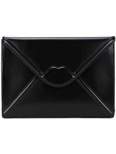Shop Lulu Guinness 'Catherine' clutch in Etoile La Boutique from the world's best independent boutiques at farfetch.com. Shop 300 boutiques at one address.