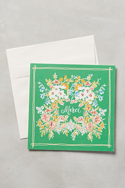 Merci Card - anthropologie.com