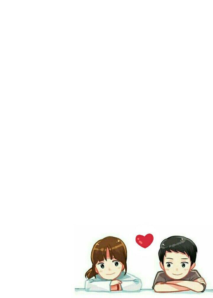 Dots Chibi Cartoons Love Cute Couple Wallpaper Cute Love Cartoons