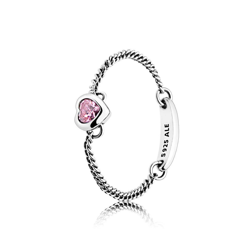 dee0fa824ccca Spirited Heart Ring, Pink CZ | PANDORA Jewelry US | My Jewelry ...