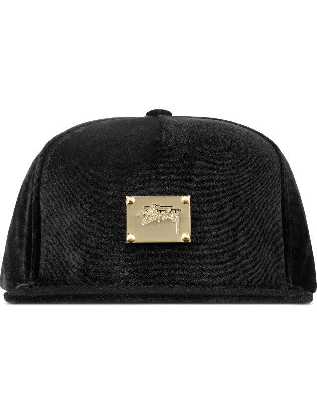 Stussy Lux Velvet Cap  c3f8093985d