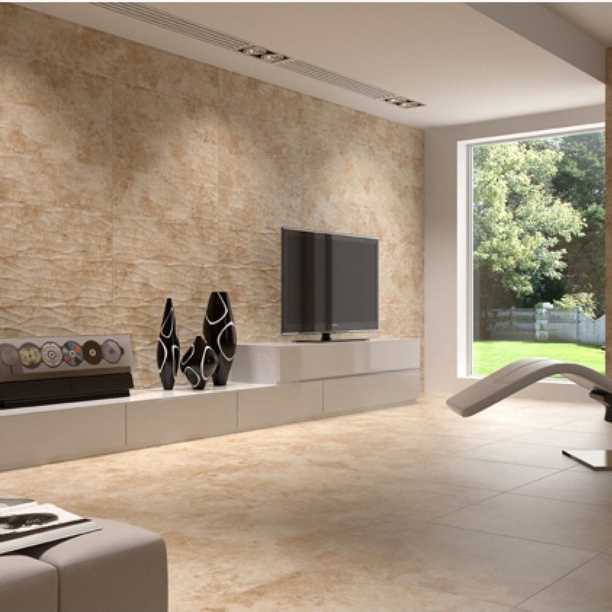Tivoli noce 450mm x 450mm floor tiles pinterest tiles shown here is the wavy finish wall tile and the matching floor tiles in dailygadgetfo Choice Image