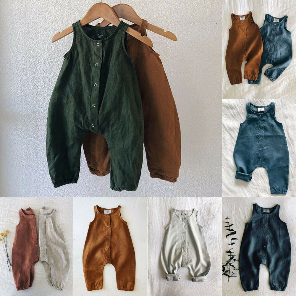 Smarter Shopping Better Living Aliexpress Com Boy Outfits Girls Rompers Linen Romper