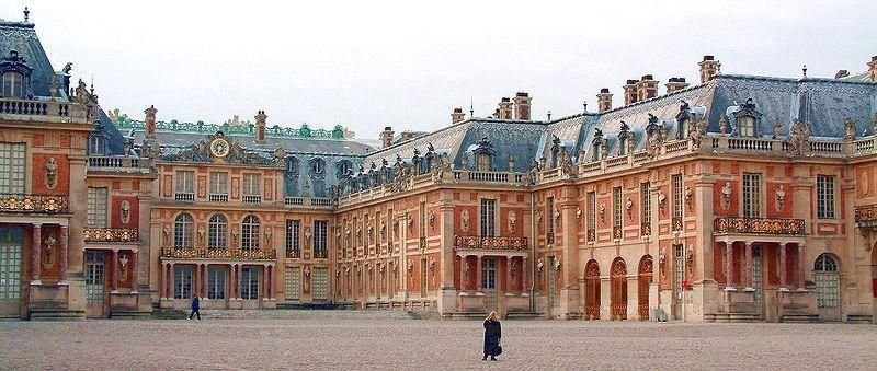 Part of Versailles, France