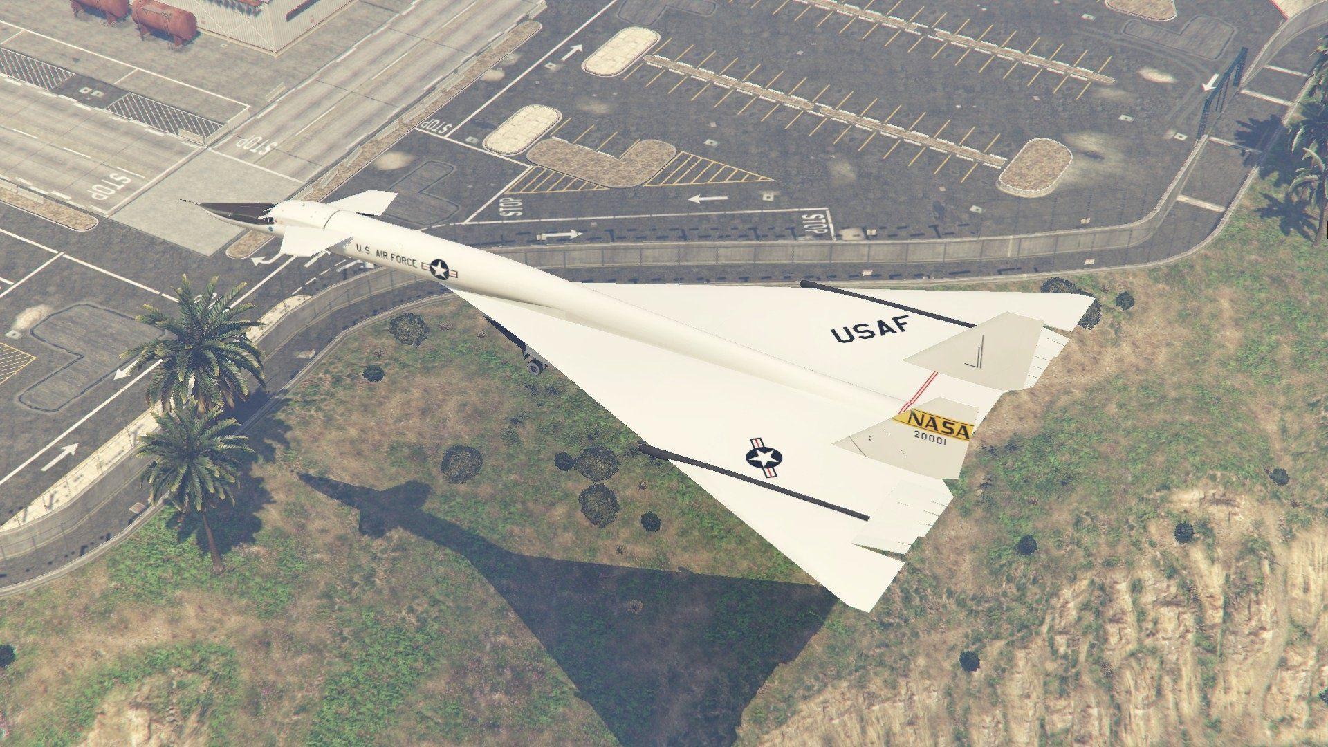 XB-70 Valkyrie (Mach 3 high speed bomber) - GTA5-Mods com | Planes