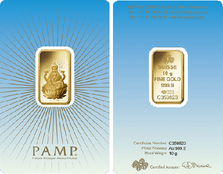 Pamp Faith Lakshmi 10 Gram Gold Bar Gold Bullion Buy Gold And Silver Gold Bar