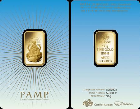 Pamp Faith Lakshmi 10 Gram Gold Bar Gold Bullion Buy Gold And Silver Gold Bar