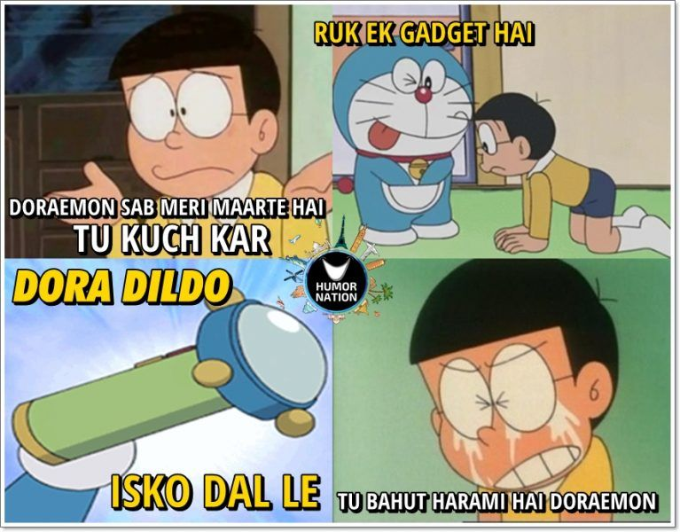 Hilarious Doraemon Memes That Will Ruin Your Childhood Make The World Smile Humor Nation Funny Gaming Memes Some Funny Jokes Funny Memes Images