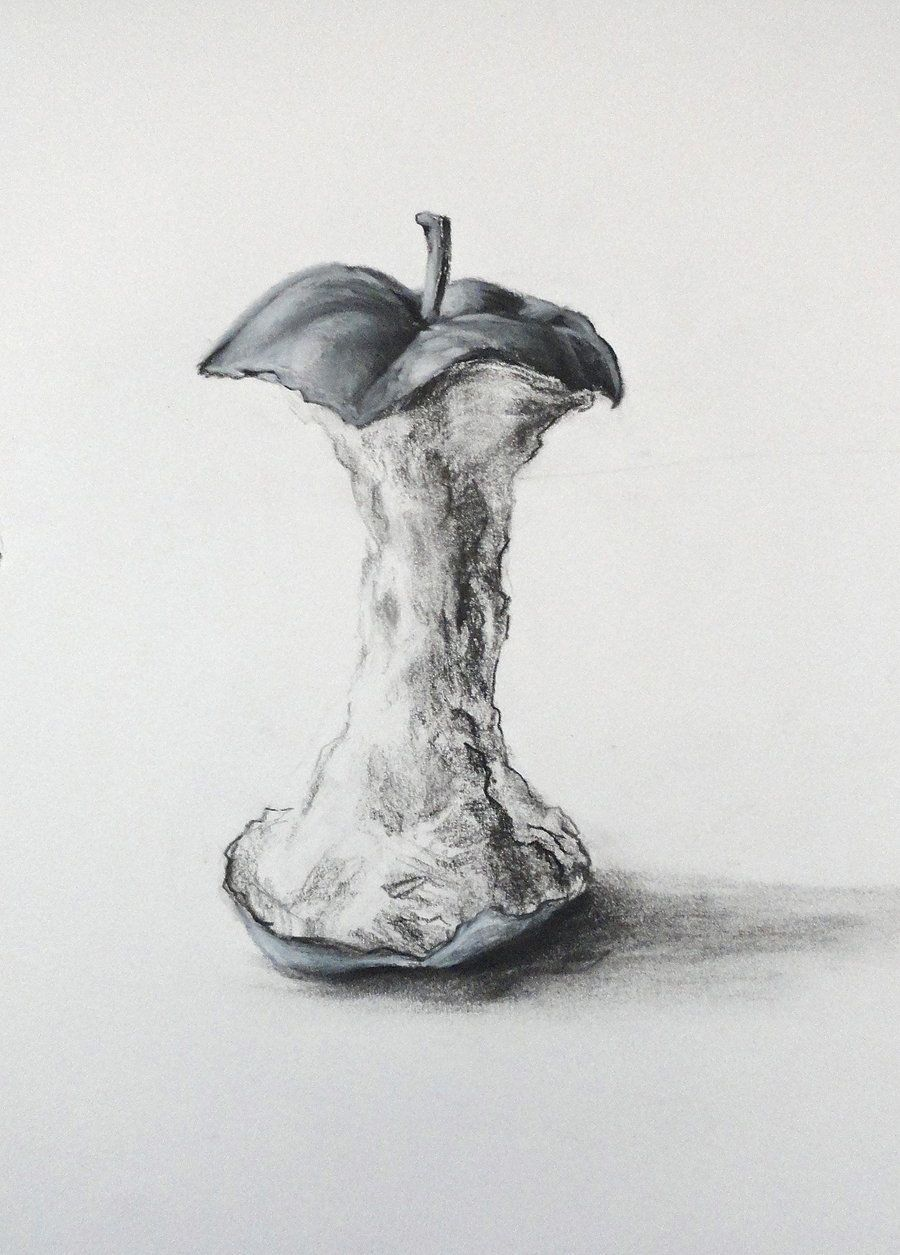 apple core drawing - Google Search