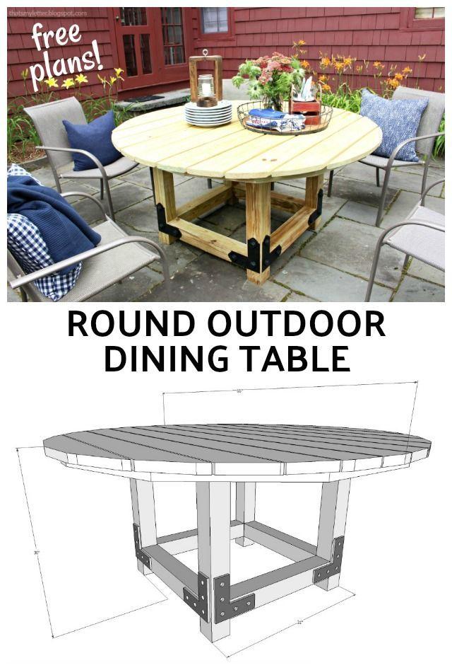Geneva Concrete Round 48 Quot Dining Table Outdoor Dining
