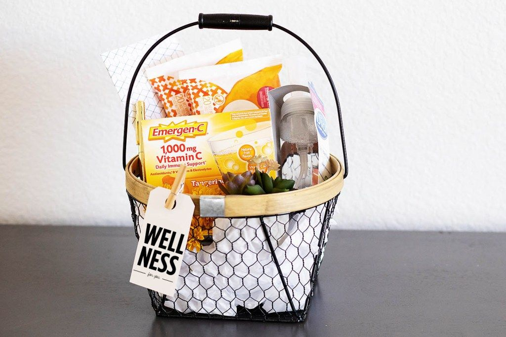 Wellness Gift Basket Idea In 2020 With Images Wellness Gifts Get Well Gift Baskets Gift Baskets