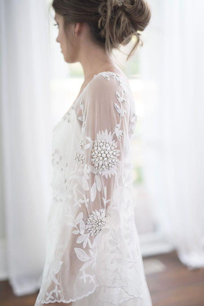 d121bbfa6ce67a RUE DE SEINE Cleo - for rent? | Wedding dress | Boho wedding dress ...