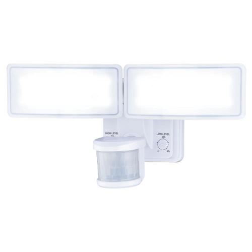 Patriot Lighting Dualux White Led Dual Head Motion Sensor Outdoor