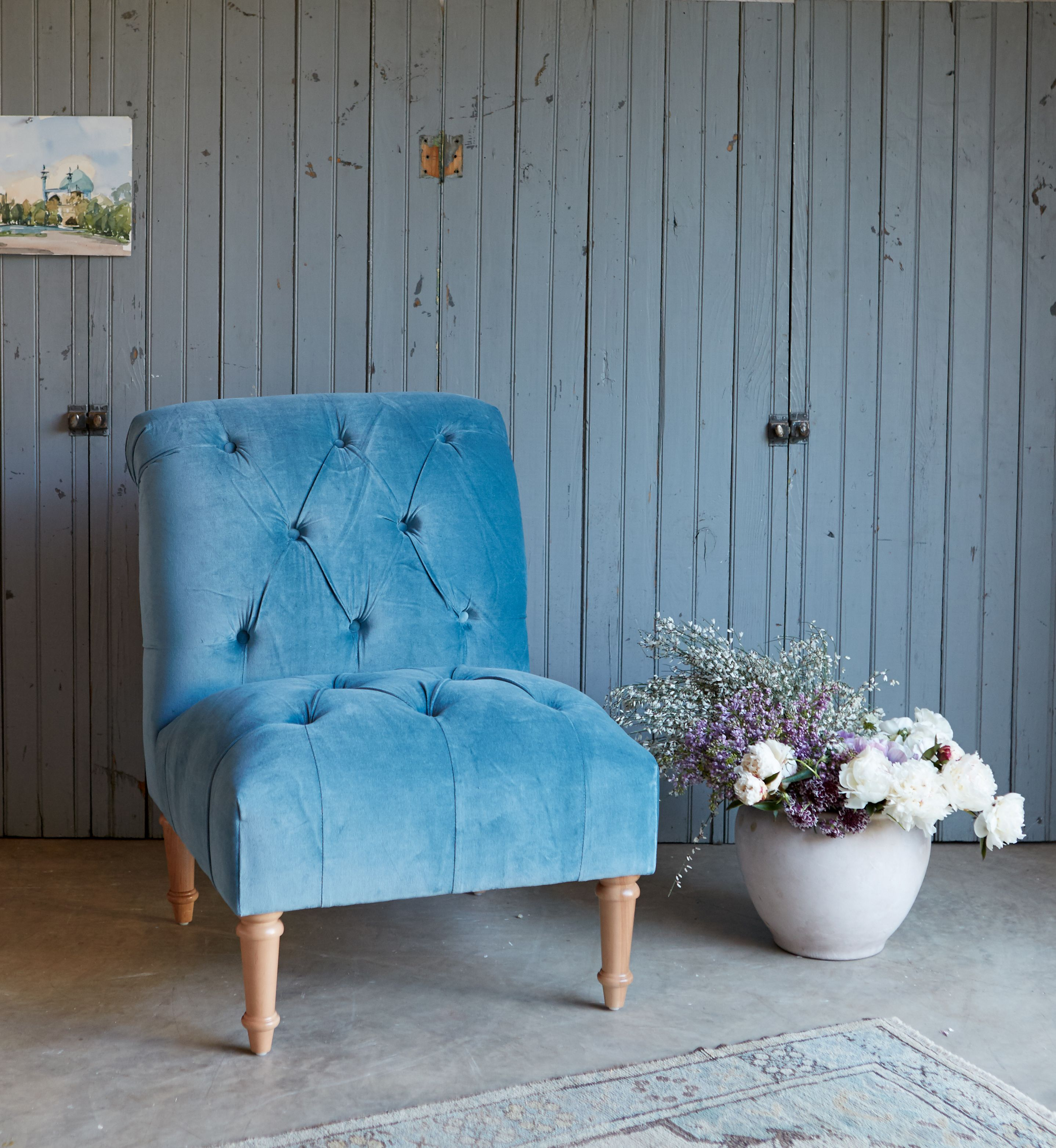 Sweet Seating. Shabby Chic Furniture Collection. Tufted ...