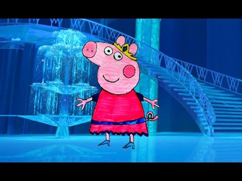 Peppa Pig Princesa Desenho - Peppa Pig portugues brasil completo TKG