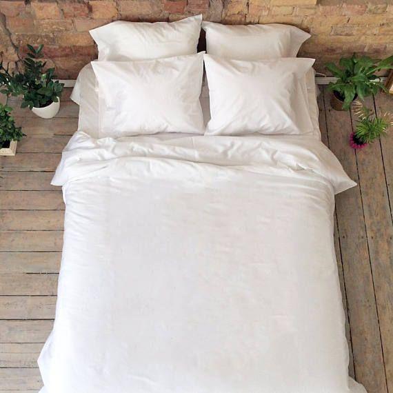 Egyptian Cotton Sateen Organic Cotton Satin Bedding Set White Satin King Queen Size Duvet Pillow Cases Luxur Wedding Bed Flower Bedding Handmade Duvet Covers