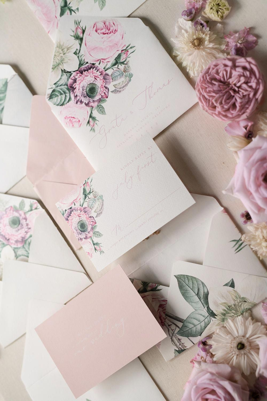 Wedding Emergency Kit Modern Calligraphy Wedding Invitations Uk
