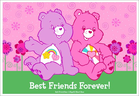 Quotes For Your Best Friend Care Bear Care Bears Care Bears Cousins