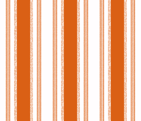 French Ticking in gris fabric - domesticate - Spoonflower