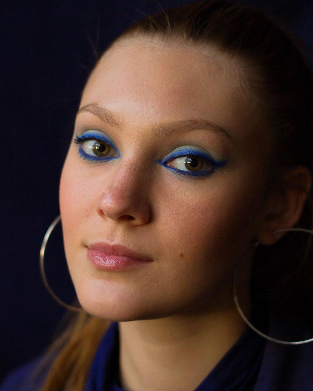 Blue by guadafeijoo ....#blueeyeshadow
