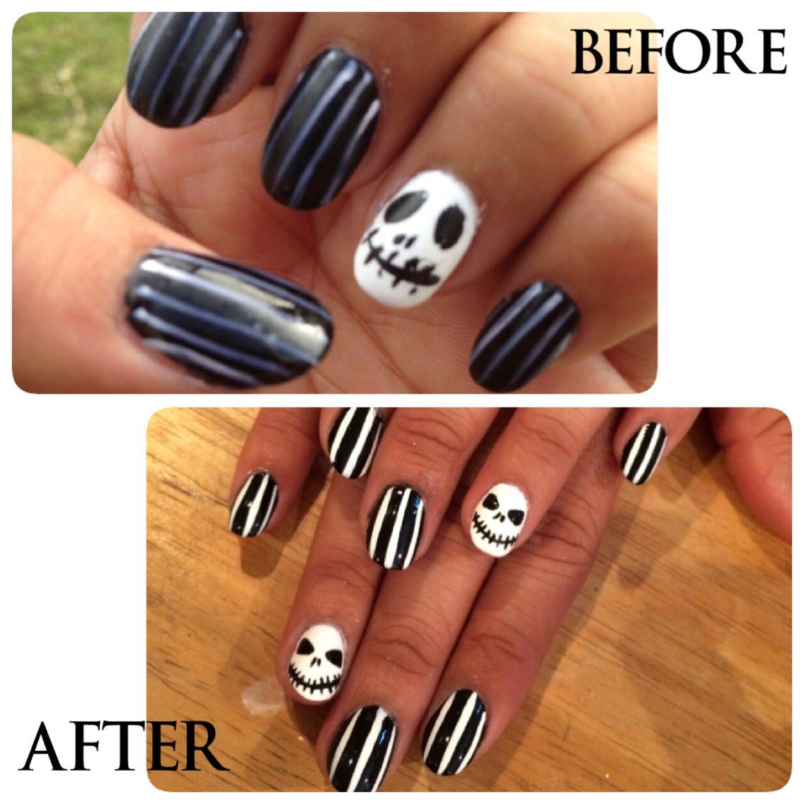 diseno unas dia brujas | uñas | Pinterest | Brujas, Diseño de uñas ...