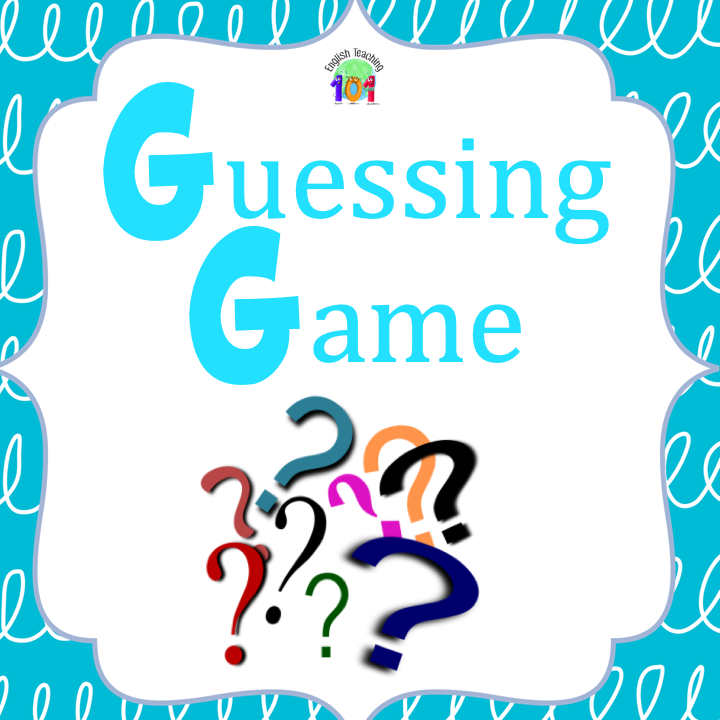 Guessing Game for ESL Class Guessing games, New