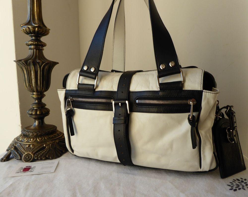 6b62d3dc4e ... shoulder bag 88881 252c3  authentic mulberry medium mabel in monochrome  grainy leather npnbags. c7309 8c58a