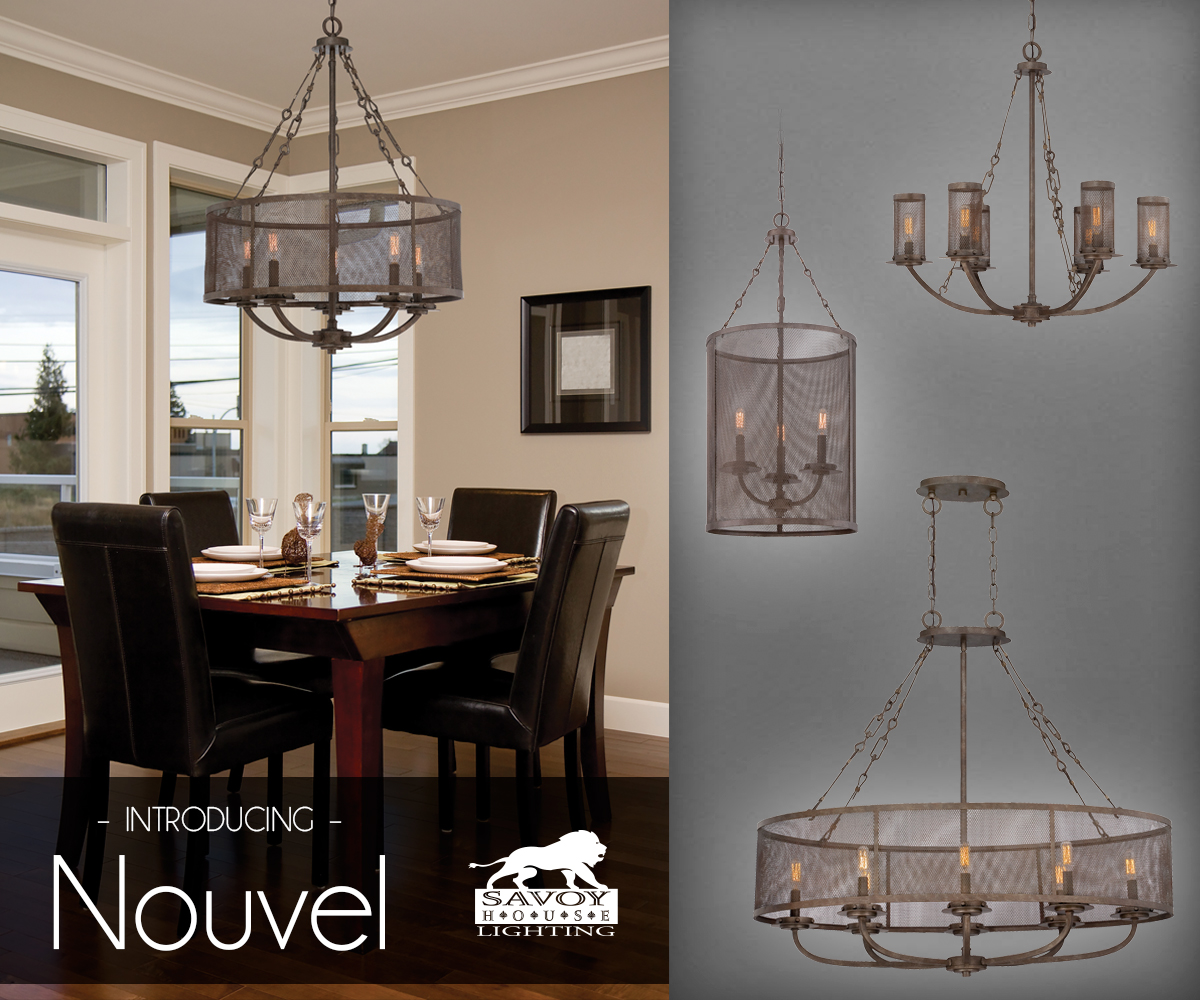 Lights Savoy House Nouvel a contemporary look
