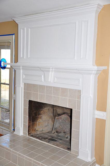 New Small Fireplace Mantel Surround
