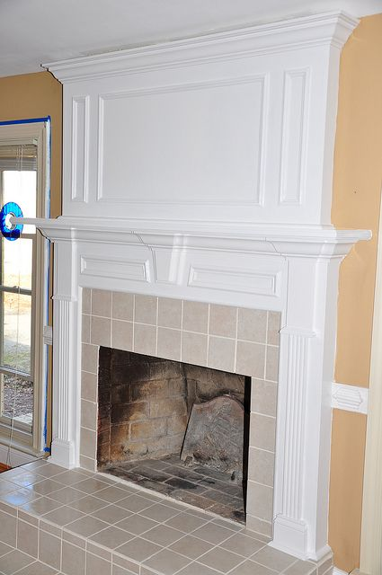 Forshaw Kensington MDF Primed Fireplace Mantel Surround Shelf ...