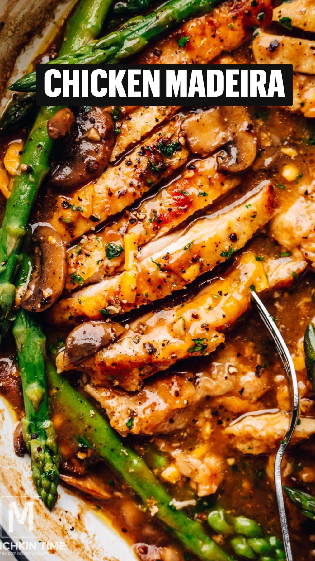 Chicken Madeira