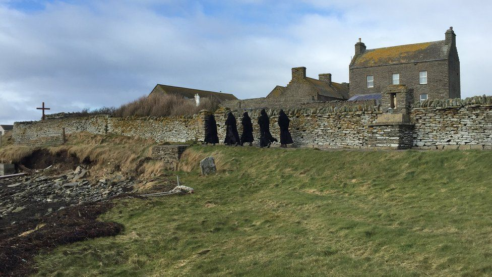 The monks who bought their own Scottish island in 2020