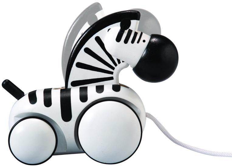Nachziehtier Zebra <3 #kids