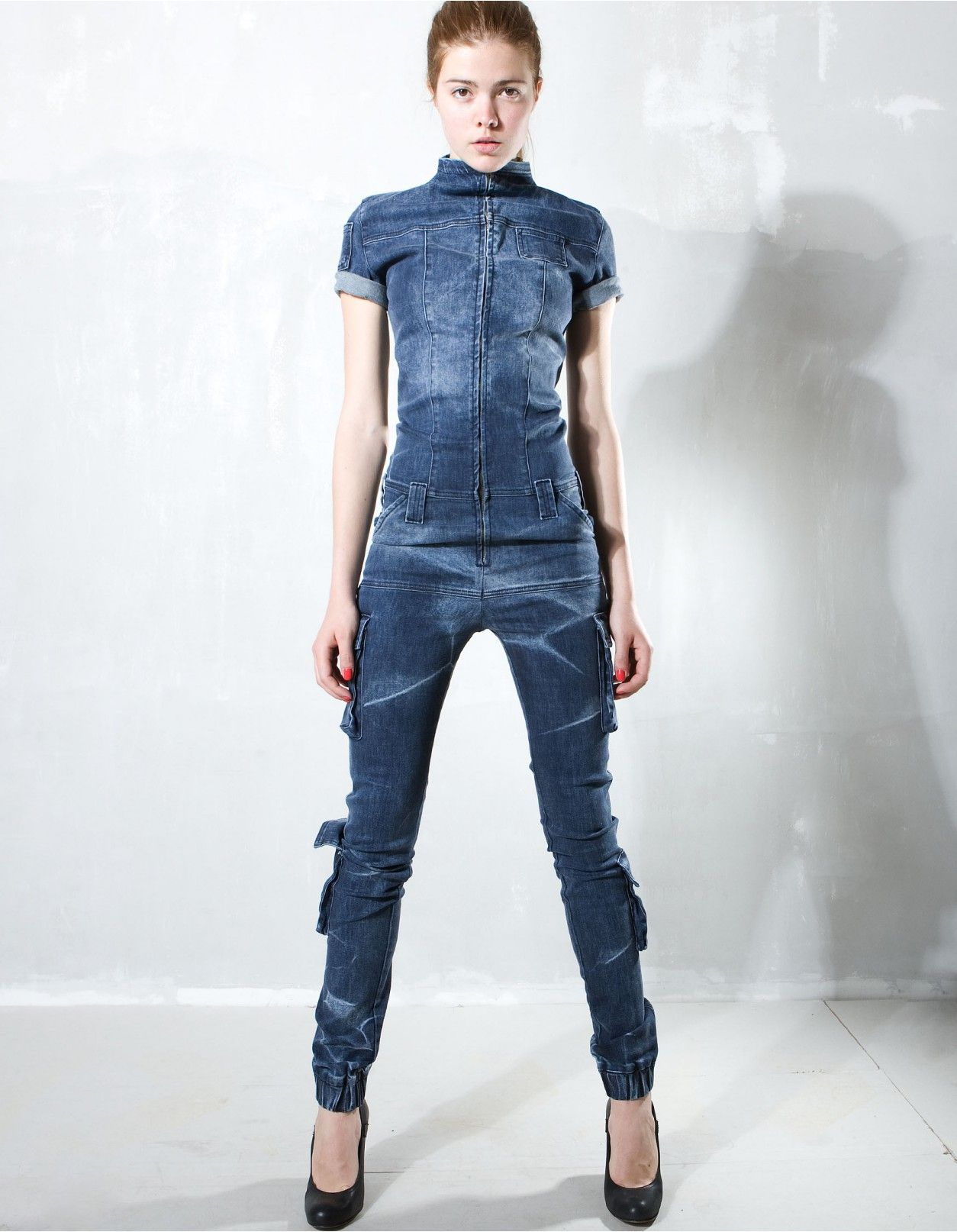 22a9b06a51 JEANS OVERALL BLUE