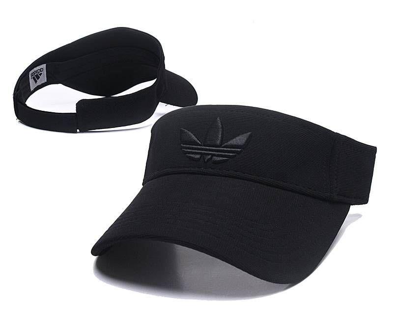 Adidas Golf Tennis Hats Sun Visor Cap All Black 066 Visor Cap Hat Fashion Sport Hat