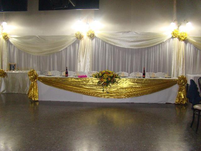 decoraciones de salones para bodas de oro | paneles | decoración de