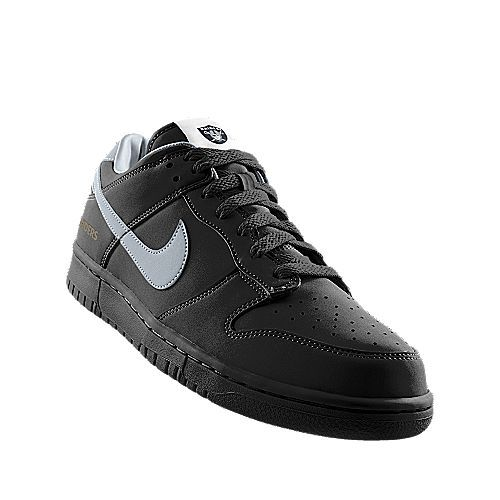best cheap 39ab5 80dd3 Nike  Dunk Low (NFL Oakland Raiders) iD Shoe