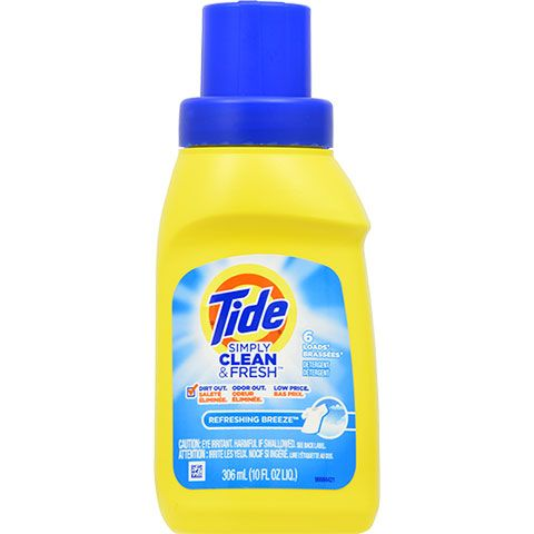 Tide Simply Clean Fresh Liquid Laundry Detergent 10 Oz Bottles Tide Simply Clean Liquid Laundry Detergent Homemade Laundry Detergent