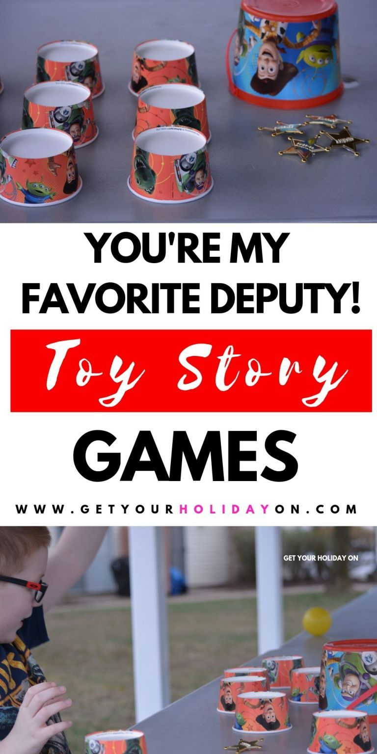Toy Story Party Games for Kids   Toy story party, Kids ...