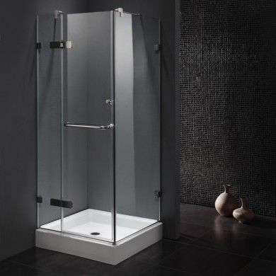 corner shower enclosure kits. Where to find shower stalls and kits  enclosure corner Vigo VG6011CHCL363W 36 x Inch Frameless 3 8 Clear Chrome